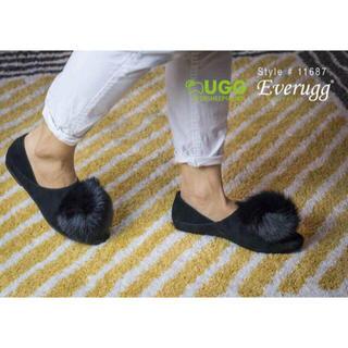 アグ(UGG)の8月🉐激安セールオーストラリアEVERUGG14000->10999円限定1点(ローファー/革靴)