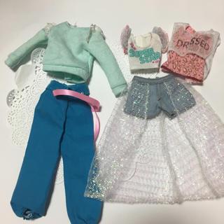 タカラトミー(Takara Tomy)のジェニー 5点セット 服 お洋服(ぬいぐるみ/人形)