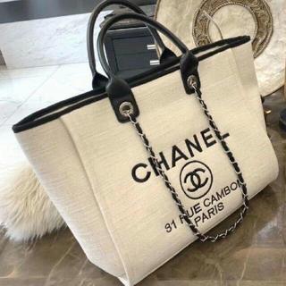 CHANEL - chanel 人気 新品 ハンドバッグ トートバッグ ショップ袋