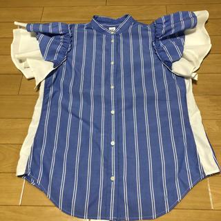 ギャップ(GAP)のフリルシャツ(シャツ/ブラウス(半袖/袖なし))