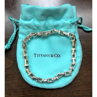 Tiffany & Co. - TIFFANY&Co.  ティファニーT ナローチェーンブレスレット