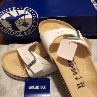 BIRKENSTOCK - 【匿名配送】ビルケンシュトック マドリッド ホワイト 37 23.5〜24.0㎝