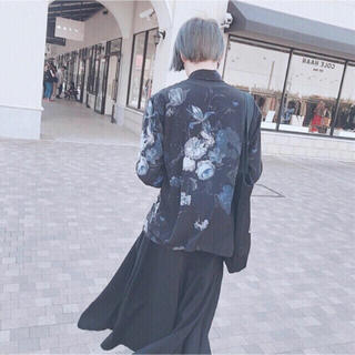 LAD MUSICIAN - 【新品未使用】LAD MUSICIAN 18ss 花柄 スタンダードシャツ 44
