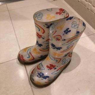 ディズニー(Disney)のTDL限定 ミッキー レインブーツ  長靴(長靴/レインシューズ)