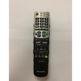 アクオス(AQUOS)のシャープテレビリモコン GA826WJSA(テレビ)