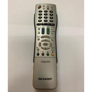 アクオス(AQUOS)のシャープテレビリモコン GA765WJSA(テレビ)