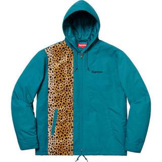 Supreme - Supreme Cheetah Hooded Station Jacket