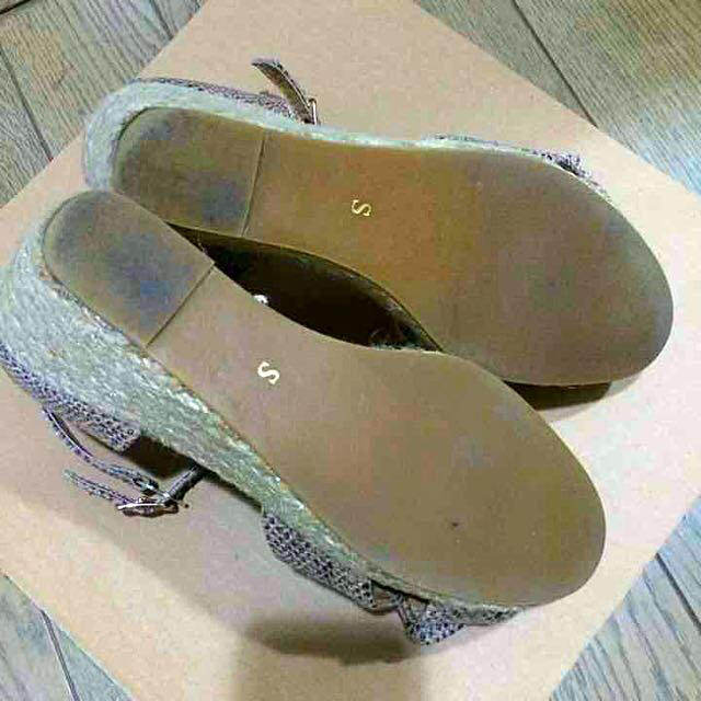 Feed you(フィージュ)の美品☆ウェッジソールサンダル レディースの靴/シューズ(サンダル)の商品写真