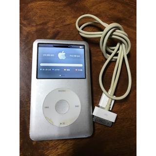 アップル(Apple)のiPod classic◆80GB 充電器付き(ポータブルプレーヤー)