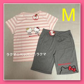 ハローキティ - キティ ミミィ tシャツ & ハーフパンツ M パジャマ