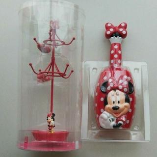 Disney - ディズニー ミニーちゃん アクセサリースタンド・おそうじモップ