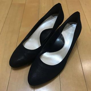 マルイ(マルイ)の日本製*マルイラクチンきれいパンプスシリーズ*黒(ハイヒール/パンプス)