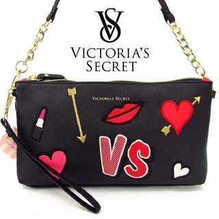 ヴィクトリアズシークレット(Victoria's Secret)のヴィクトリアシークレット ショルダーバック ハート VS(ショルダーバッグ)