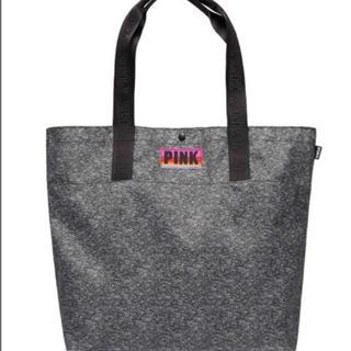 ヴィクトリアズシークレット(Victoria's Secret)のヴィクシー VS PINK トートスナップバッグ グレー(トートバッグ)
