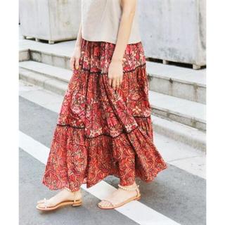 IENA - ■IENA LA BOUCLE  パネルプリント マキシスカート 36■