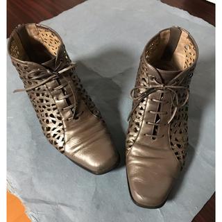 Yoshidayaのメッシュショートブーツ(ブーツ)