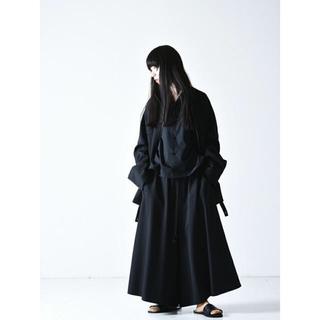Yohji Yamamoto -  bishool wool gabardine 70 zip jacket