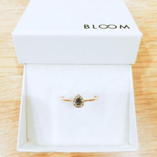 BLOOM - BLOOM K10ブラウンダイヤモンドリング