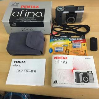 ペンタックス(PENTAX)のPENTAX efina APSフィルムカメラ(フィルムカメラ)