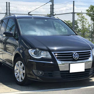 Volkswagen - 【格安・車検付】ゴルフトゥーラン!内外装美車!全ディーラー整備!ワンオーナー