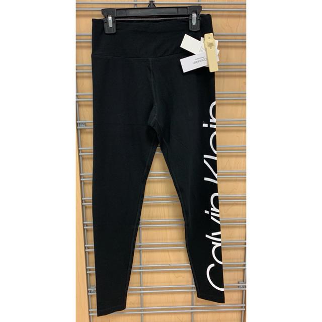 Calvin Klein(カルバンクライン)の【新品】Calvin Klein USA レギンス S(US)  レディースのレッグウェア(レギンス/スパッツ)の商品写真