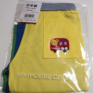 mikihouse - 新品【ミキハウス】ハーフパンツ☆110