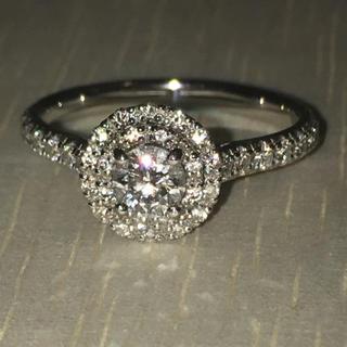 プラチナ製 ダイヤモンド 指輪