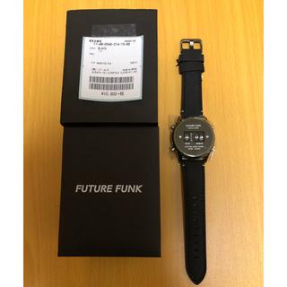 ビームス(BEAMS)のFUTURE FUNK / FF102 ANA-DEGI ウォッチ(ブラック)(腕時計(デジタル))