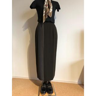 ザラ(ZARA)の【Vintage】グラデーションライン ロングスカート(ロングスカート)