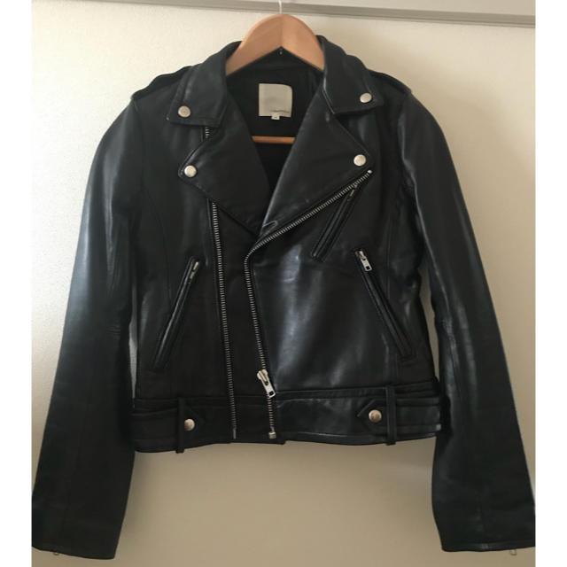 TODAYFUL(トゥデイフル)のTODAYFULライダースジャケット ブラック レディースのジャケット/アウター(ライダースジャケット)の商品写真