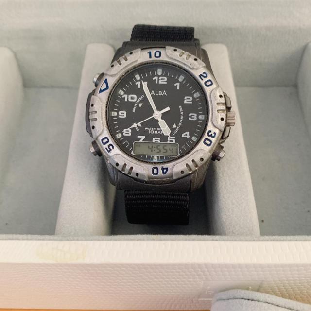 ALBA - SEIKO ALBA デジアナ 腕時計の通販 by 888プロフ必読|アルバならラクマ