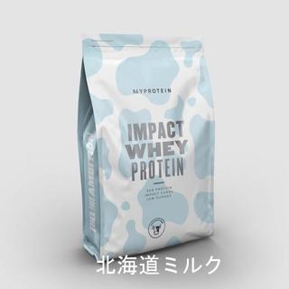 MYPROTEIN - 北海道ミルク味 MYPROTEIN Impact ホエイ プロテイン 250g