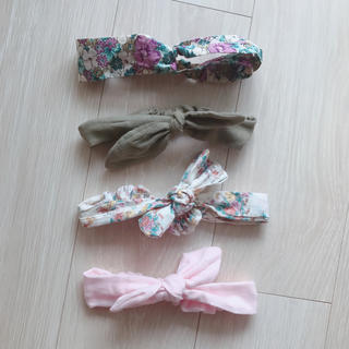 ミキハウス(mikihouse)のベビーヘアリボン お得なセット♡(ファッション雑貨)