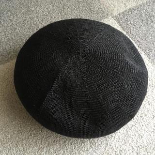 スタディオクリップ(STUDIO CLIP)の++スタディオクリップ++ベレー帽 ブラック(ハンチング/ベレー帽)