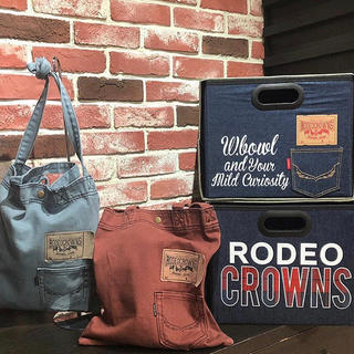 RODEO CROWNS WIDE BOWL - ノベルティ トートバッグ