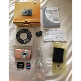Canon - キヤノン PowerShot A4000IS SDカード付