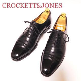 クロケットアンドジョーンズ(Crockett&Jones)の14.CROCKETT&JONES HALLAM ハラム ストレートチップ 6E(ドレス/ビジネス)