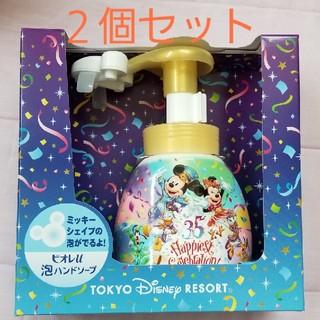 Disney - ディズニー ハンドソープ 35周年 ミッキー シェイプ ハンドソープ ビオレ