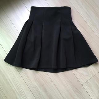 GU - フレアスカート 黒