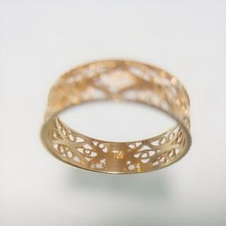 新品 k18 18金 リング 指輪