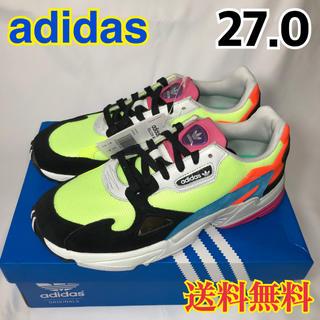 adidas - ★新品★アディダス  スニーカー  ブラック イエロー CG6210  27.0