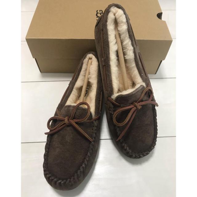 UGG(アグ)の新品未使用 アグ モカシン ファー レディースの靴/シューズ(スリッポン/モカシン)の商品写真