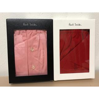 Paul Smith - 新品★ポールスミス★トランクス★パンツ★2枚★M★赤★ピンク
