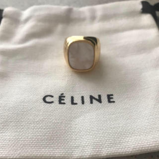 L'Appartement DEUXIEME CLASSE - reiko 様専用 セリーヌ シグネットリング 刻印入り 巾着付き