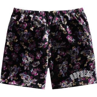 Supreme - Floral Velour Short