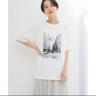 LOWRYS FARM - フォト プリント ビッグTシャツ