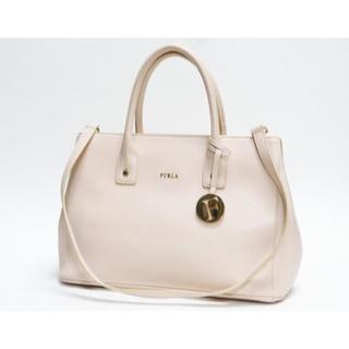 Furla - 美品FURLAフルラ リンダ トートバッグ ショルダー薄ピンク良品 正規