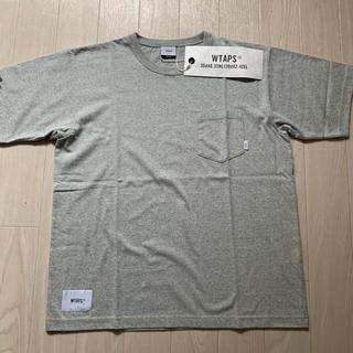 ダブルタップス(W)taps)のWTAPS 18SS BLANK SS GPS02 GRAY 01(Tシャツ/カットソー(半袖/袖なし))