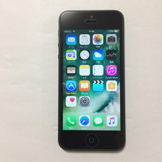iPhone - ⑤美品 Softbank iPhone5 16gb 充電12回