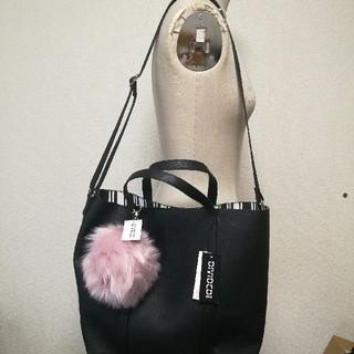エイチアンドエム(H&M)の可愛い 2way エイチアンドエムハンドバッグショルダーバッグトートバッグ(トートバッグ)